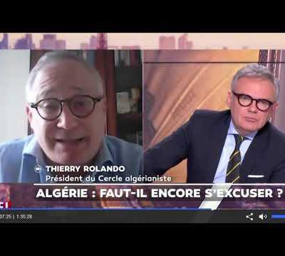 SUR LCI, THIERRY ROLANDO, Président du Cercle Algérianiste National