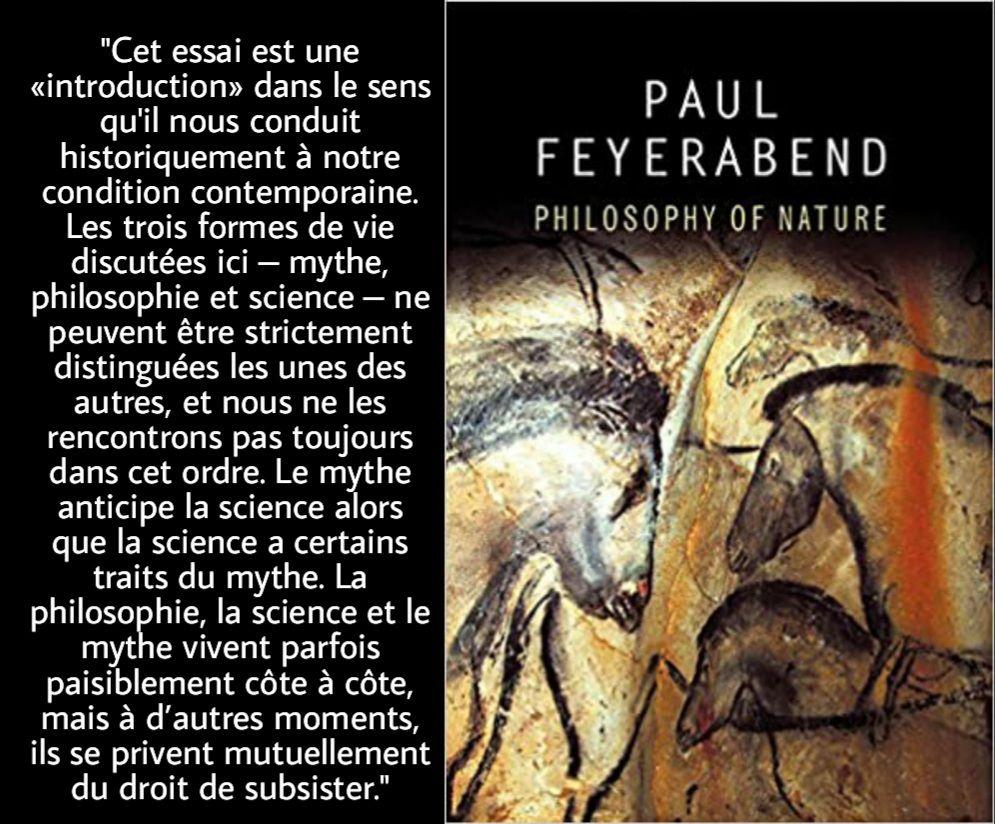 Paul Feyerabend et les mythes. Avec Étienne Klein