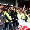 Polyclinique d'Ormeau à Tarbes, 57ème jour de grève, ils étaient à Toulouse !