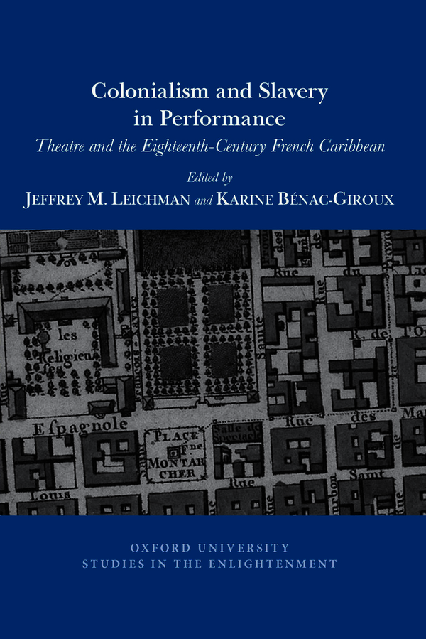 Colonialism and Slavery in Performance