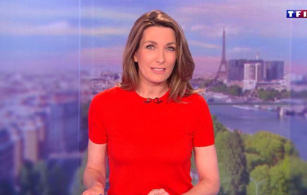 LE 13H WEEK-END d'ANNE-CLAIRE COUDRAY sur TF1 le 2016 06 04