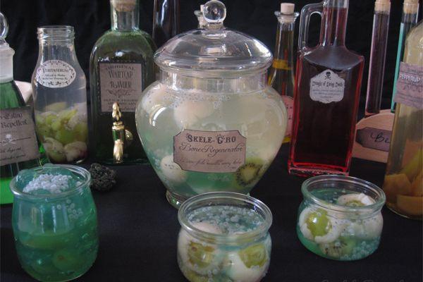 Harry Potter potions magiques pour Halloween drink