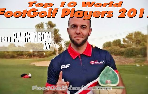 Top 10 players 2017 : Jason PARKINSON