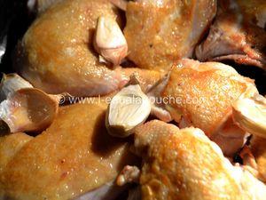 Poulet aux Champignons Sauce au Porto Blanc
