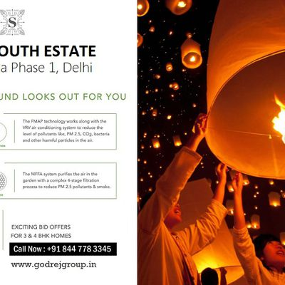 Godrej South Estate Project In Okhla - The Best Things In Life Await You At Delhi