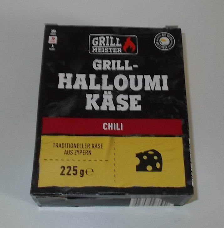 Lidl Grill Meister Grill-Halloumi Käse Chili