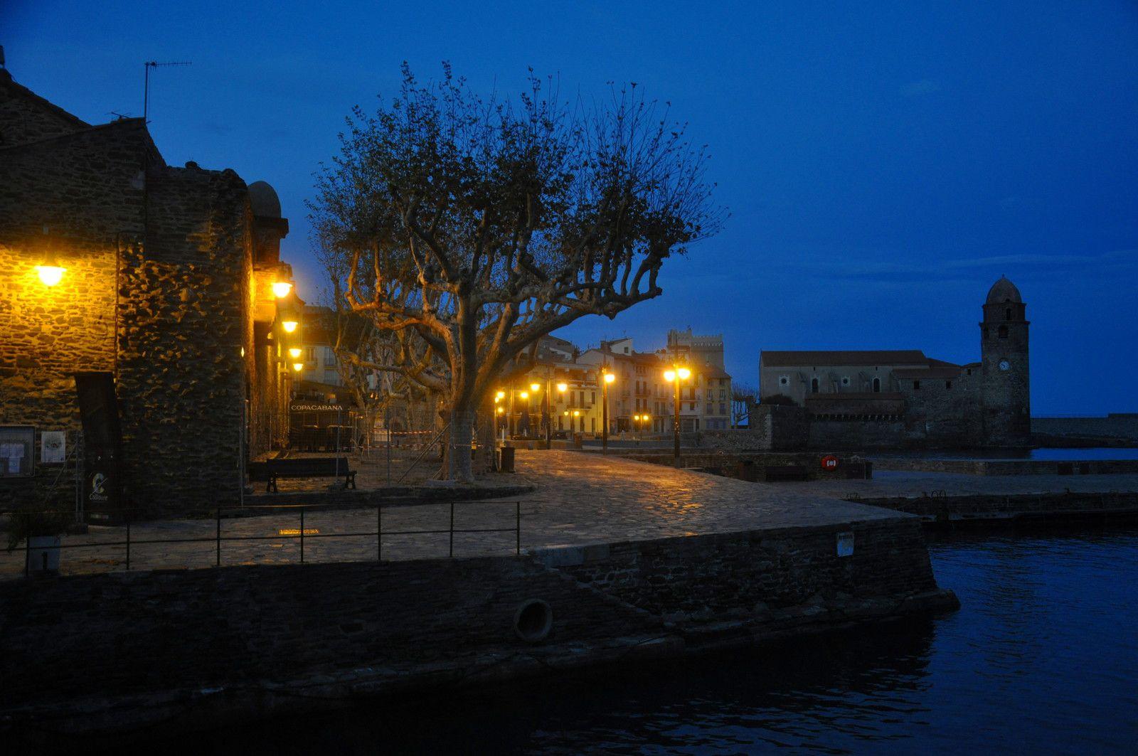 Collioure (photos d'archive) Sans personne, c'est un cadeau pour la visite.