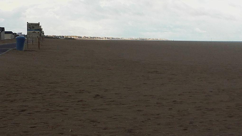 Quelques plages du débarquement en Normandie (nov;2017)
