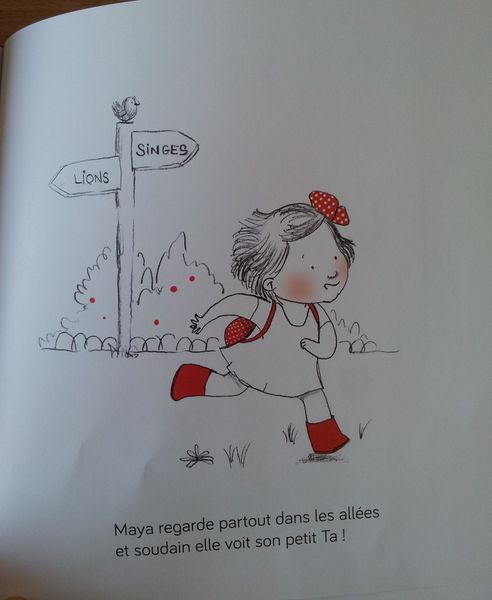 Maya et son petit Ta. Nancy GUILBERT et Cécile VANGOUT. (Dès 2 ans)