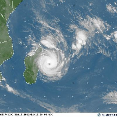 Cyclone Giovanna suite et fin