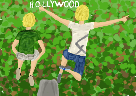 Everybody comes to Hollywood, how could it hurt you when it looks so good ?