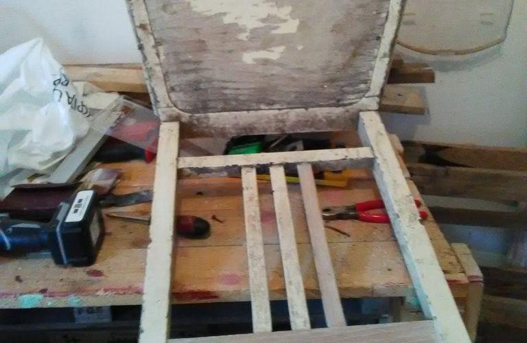 restauration d'une chaise