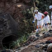 S. Africa suspends search for trapped illegal gold miners