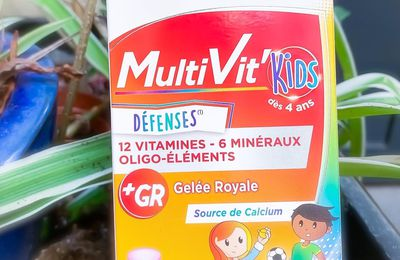 MultiVit 4G Kids - Laboratoires Forté Pharma