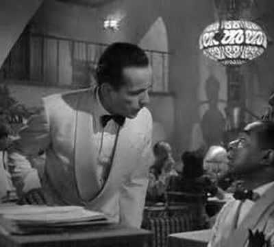 As time goes by.................Casablanca soundtrack