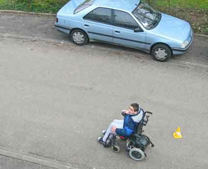 Participation de quelques enfants de l'école primaire à la course parrainée.