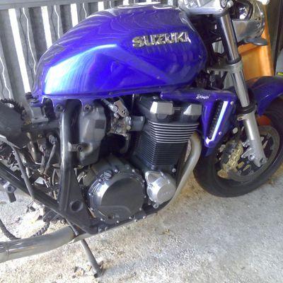 modélisation du moteur d'une Suzuki 1400 GSX
