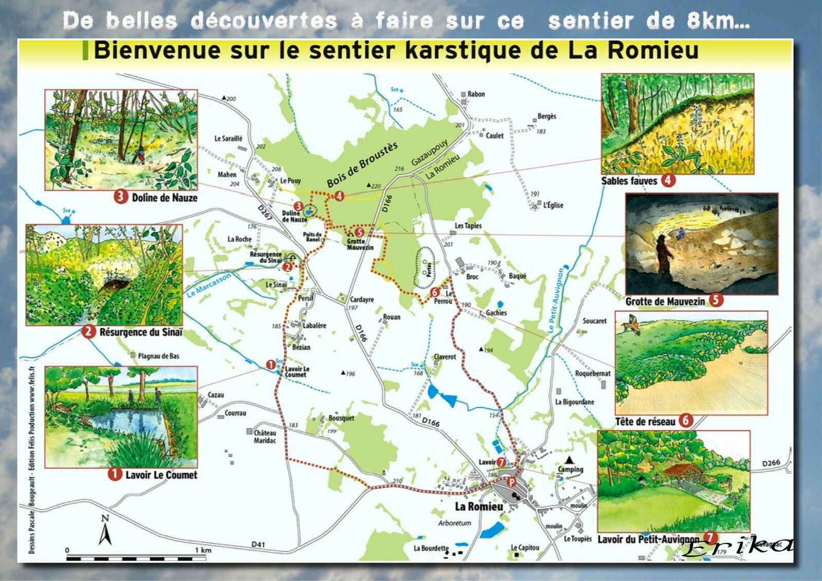 Village de La Romieu...