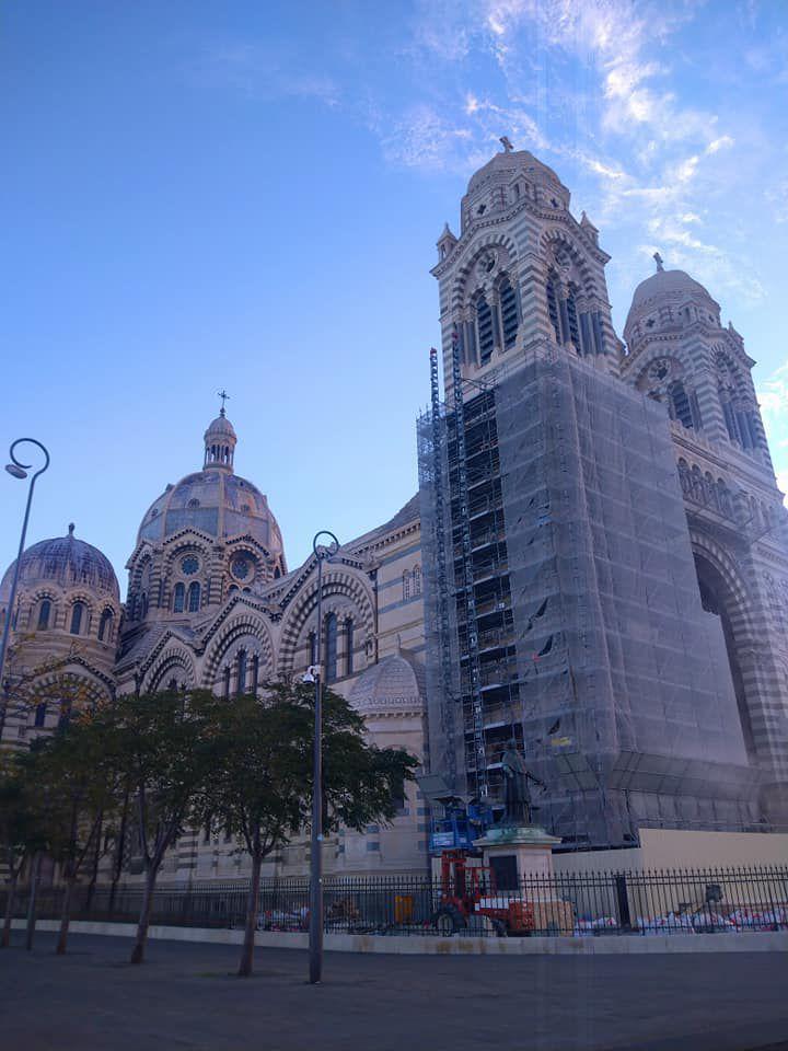 Cathédrale Sainte Marie Majeure la Major . Marseille .I