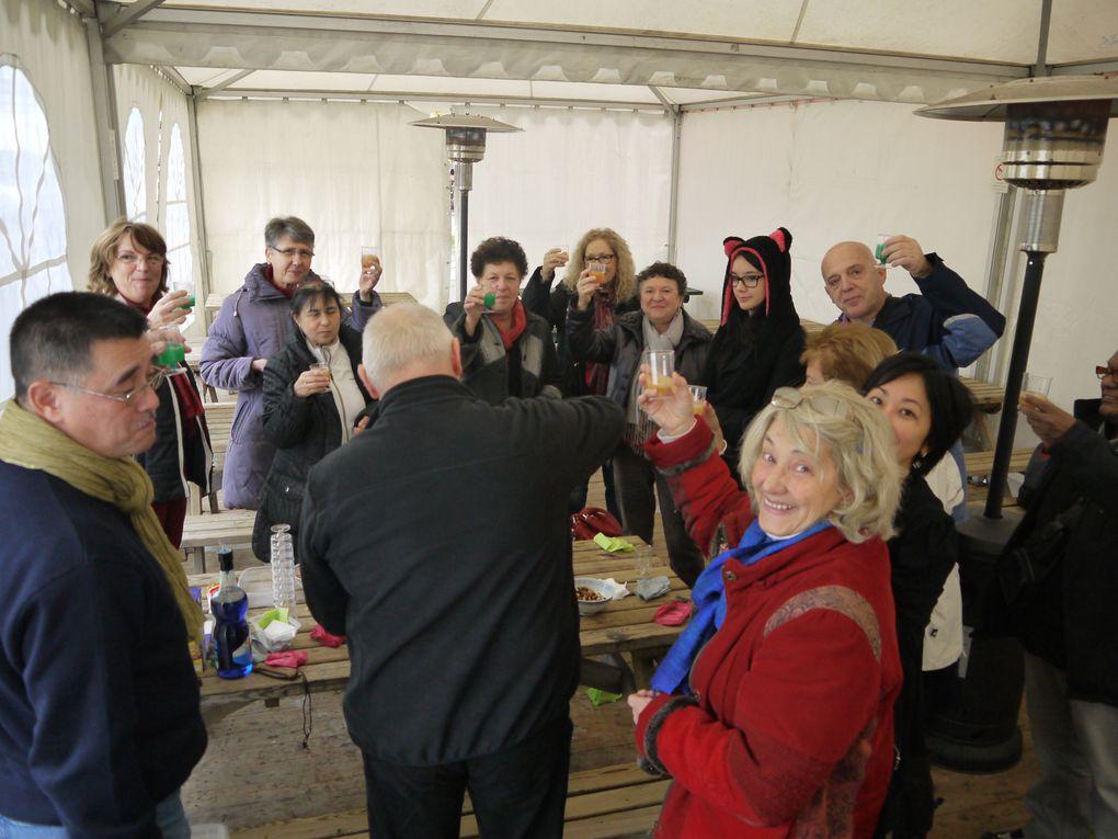 repas de fin d'année avec les adhérents chez Eurasie à Bordeaux