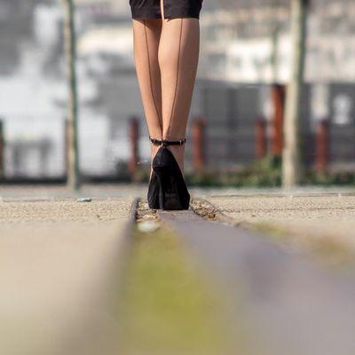 Lovely nylon stockings...