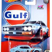 NISSAN LAUREL 2000 SGX GULF 1972 HOT WHEELS 1/64. - car-collector.net