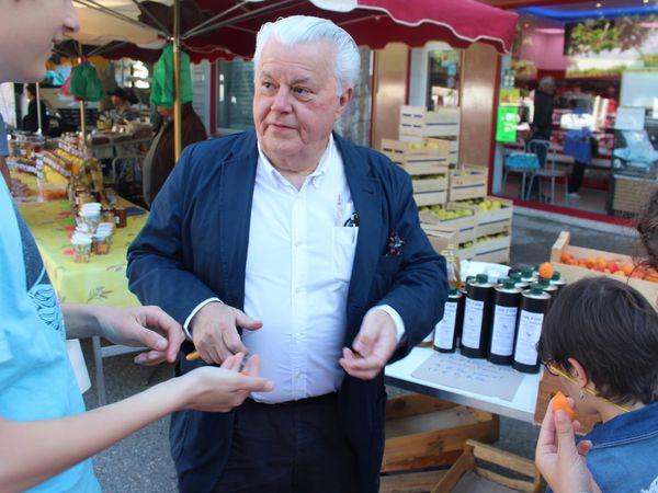 Du marché à l'assiette avec Jany Gleize