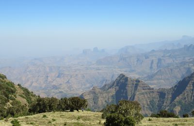 Le parc national du Simien en Éthiopie