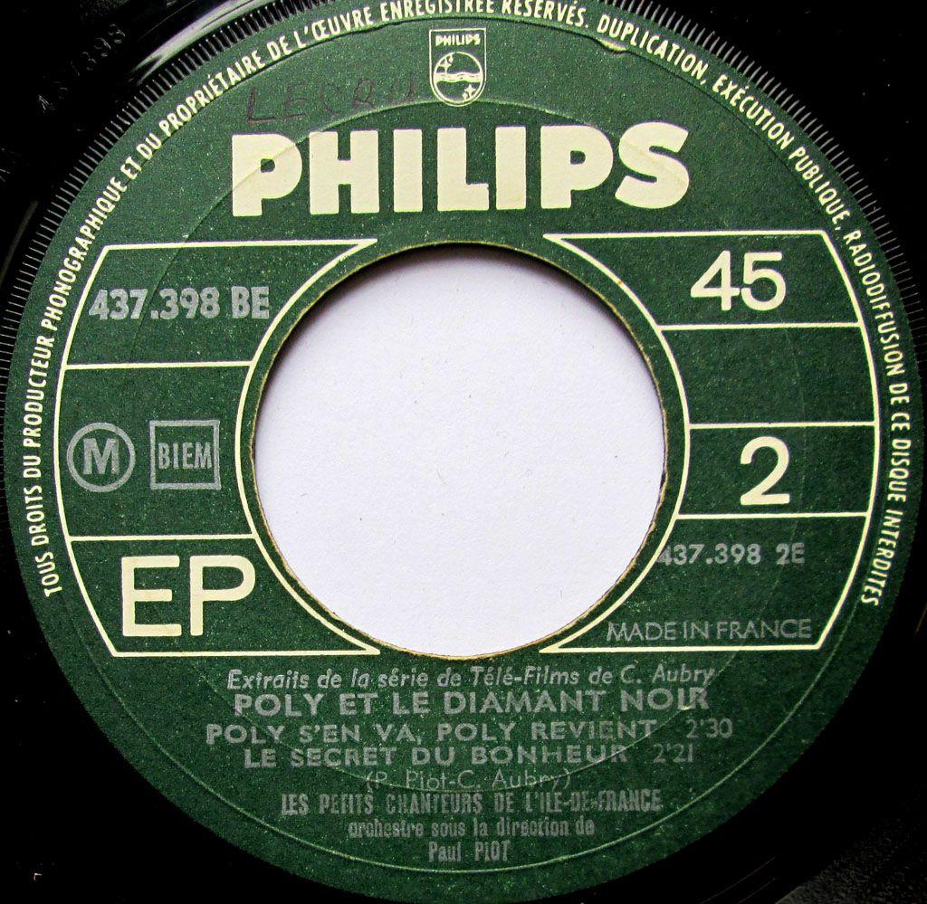 Les petits chanteurs de L'Ile de France (Asnière) - Poly et le diamant noir - 1967