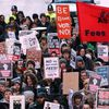 Europe de la crise : Les étudiants britanniques défilent à nouveau contre la hausse des droits universitaires
