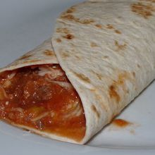 Tortilla courgette et tomate