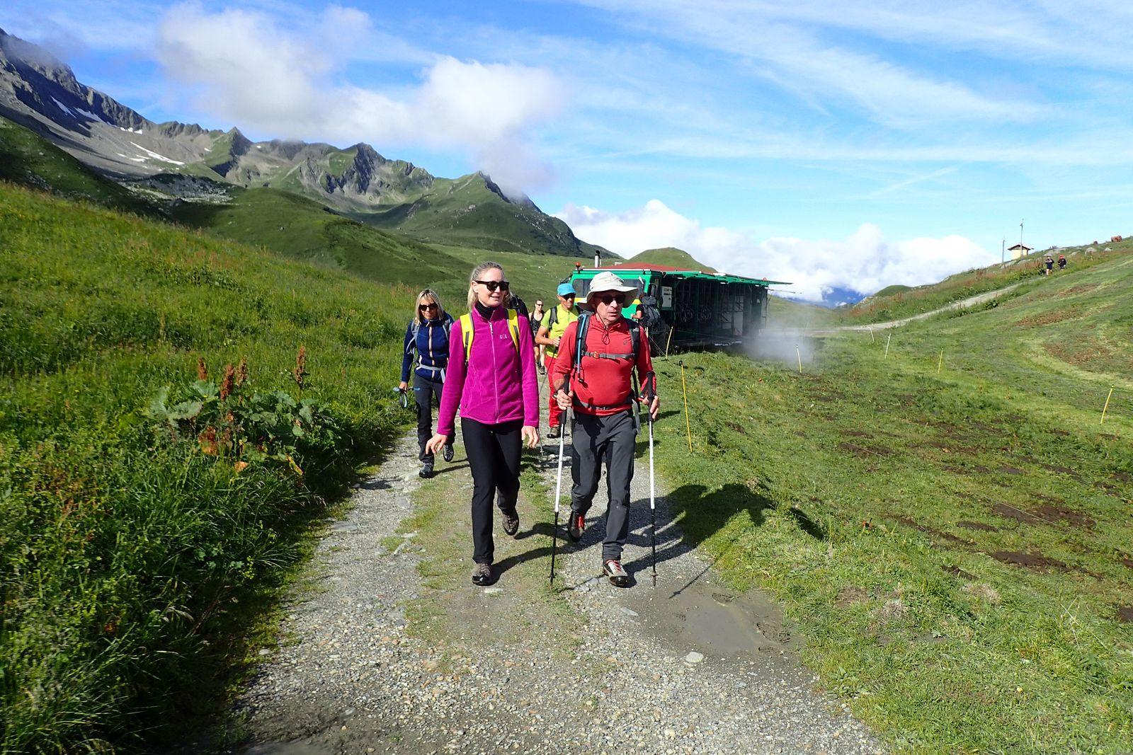 Aiguille du Grand Fond : Tour du Grand Fond + Lac d'Amour 1/2