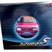 PEUGEOT 205 GTI TUNING 1990 PEINTURE ROSE SOLIDO 1/18 - car-collector.net
