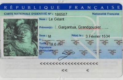 Enluminures - Gargantua