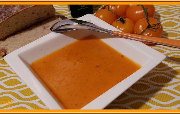 Coulis de tomates oranges au Thermomix