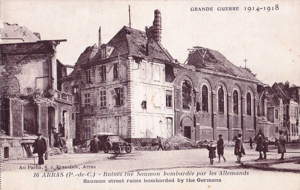 12 rue du Saumon. Georges Trassoudaine, architecte, 1924 - Carte postale : collection privée.