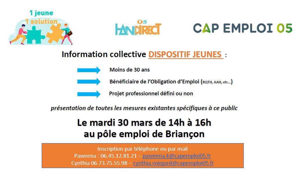"Information collective ""Dispositif Jeune"""