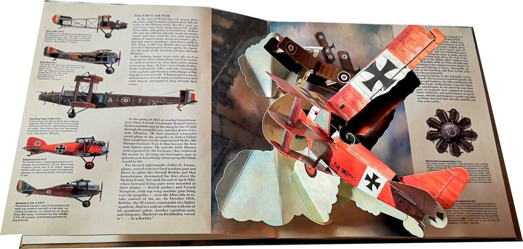Flight: Great Planes of the Century ( livre Pop-Up )