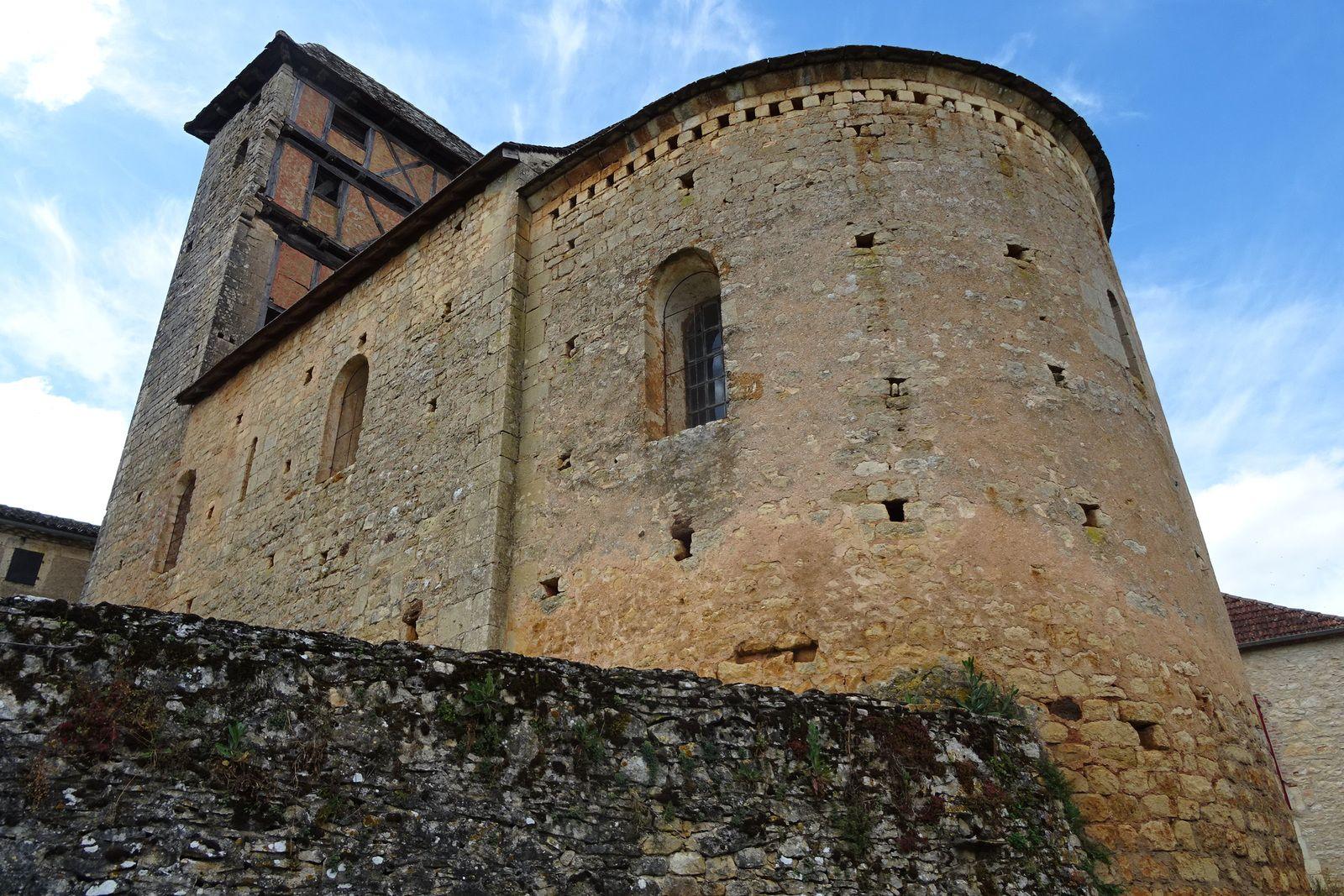 A Martignac, cette église classée monument historique.
