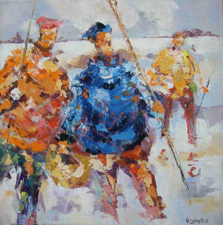 Les peintures présentées ici sont réalisées à l'huile sur toile. Plus de renseignements au 06 62 61 84 50 ou otislourec2@aol.com... copyright Olivier Lecourtois  2006-2011