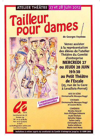 Les Ateliers Théâtre chez H.F.A.