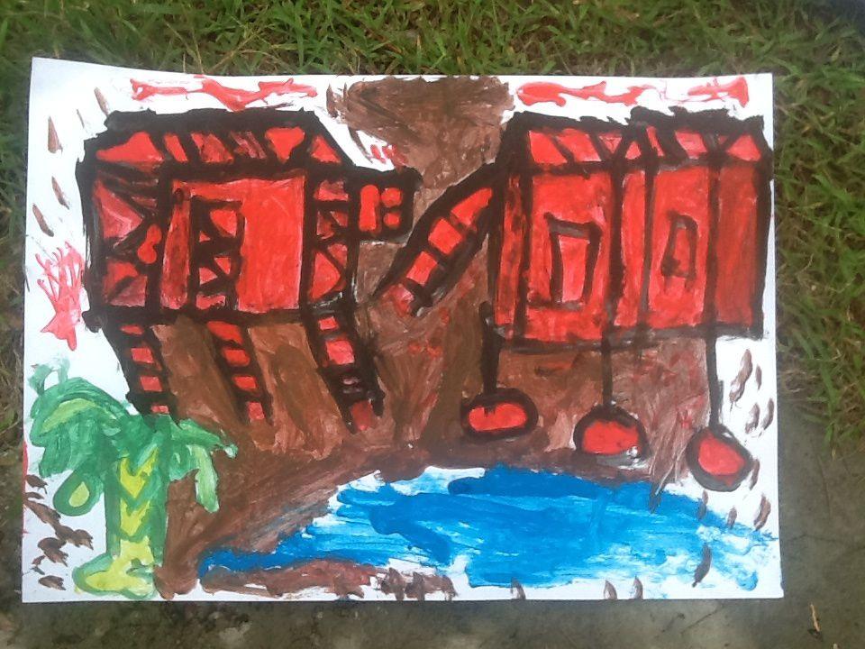 Peintures et dessins art-thérapie