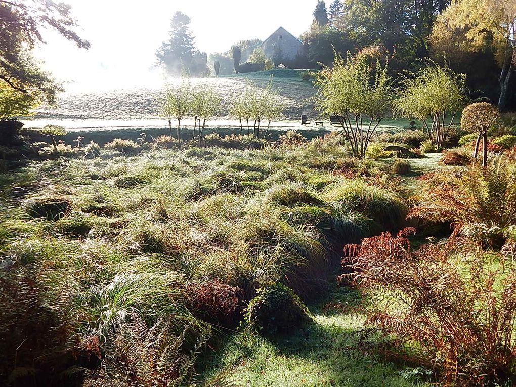 Jardin de Valmaubrune (Creuse)