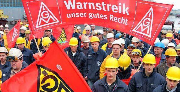 3,4% d'augmentation de salaire dans la métallurgie : c'est en Allemagne !
