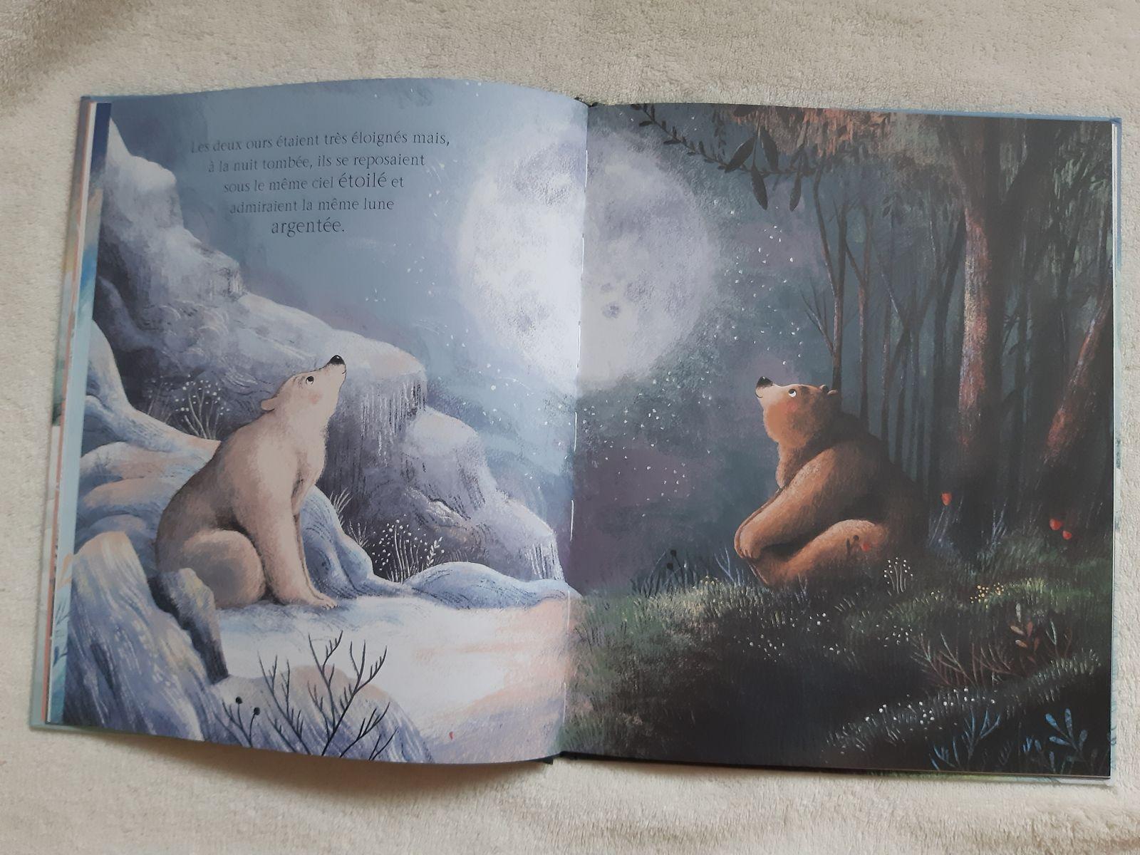 Deux ours aux éditions Kimane