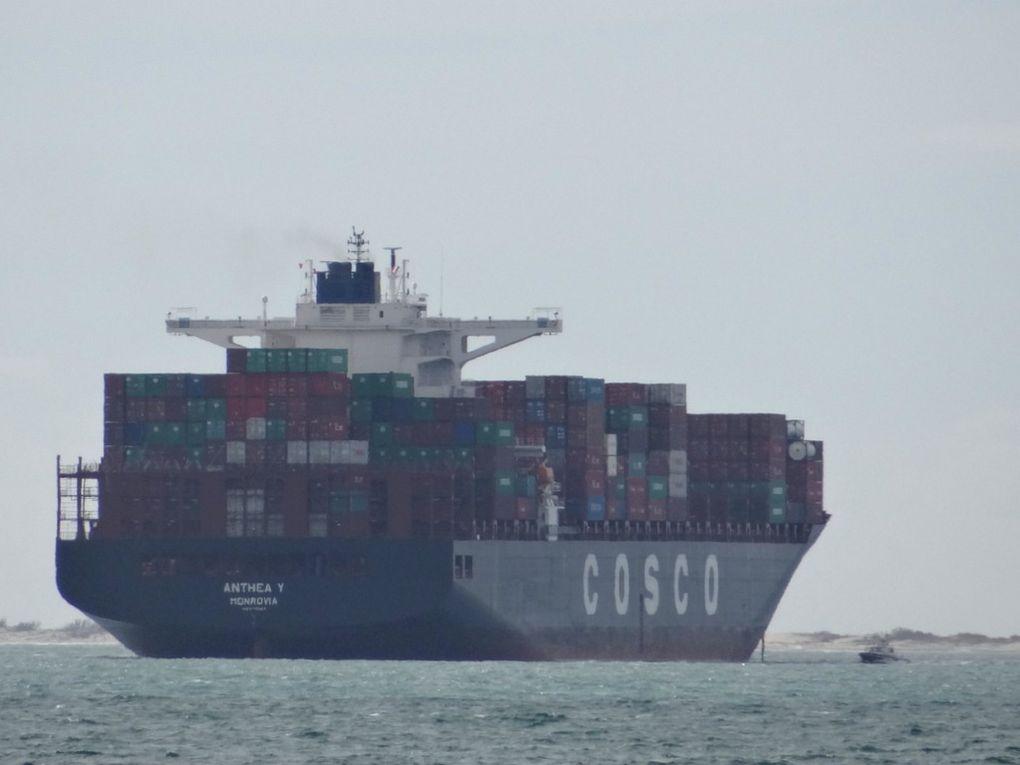 ANTHEA Y , arrivant à Fos sur Mer le 02 mars 2016