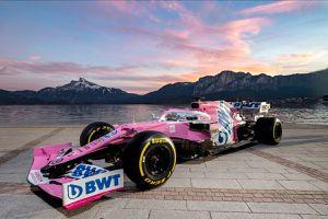 Racing Point change encore de sponsor-titre