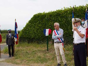 12 août 2020 - Pierre Léaustic, président d'honneur de l'association Aux Marins