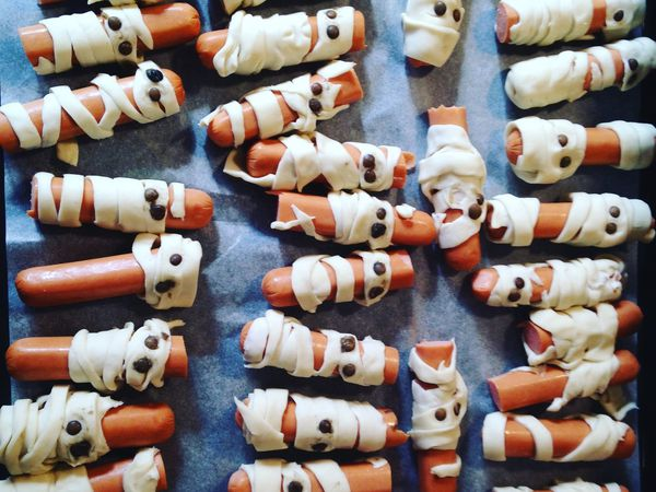 menu halloween cuisine momie d'Halloween  sur charlotteblablablog