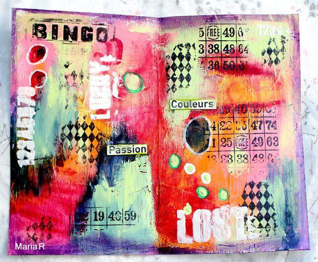De la peinture plein les doigts Défi 9 Jacqueline